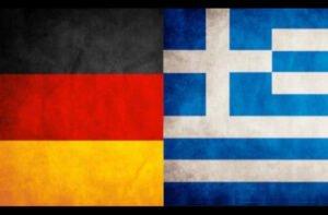 german and greek flags